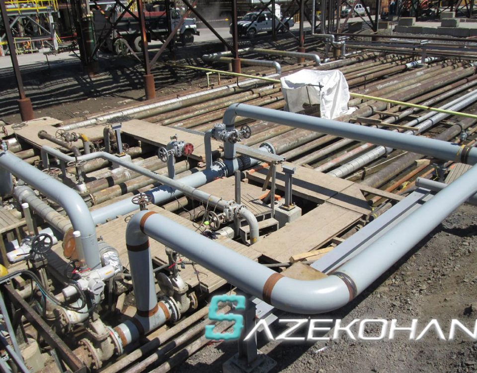 لوله کشی گاز صنعتی ساختمان خانگی - 10 - نمونه کار لوله کشی سازه کهن 6