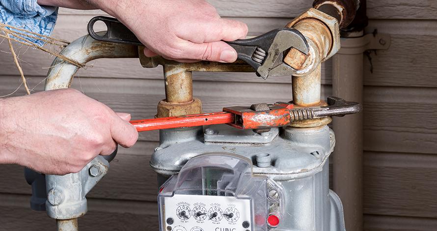 تعمیرات - تعمیرات و خورده کاری گاز