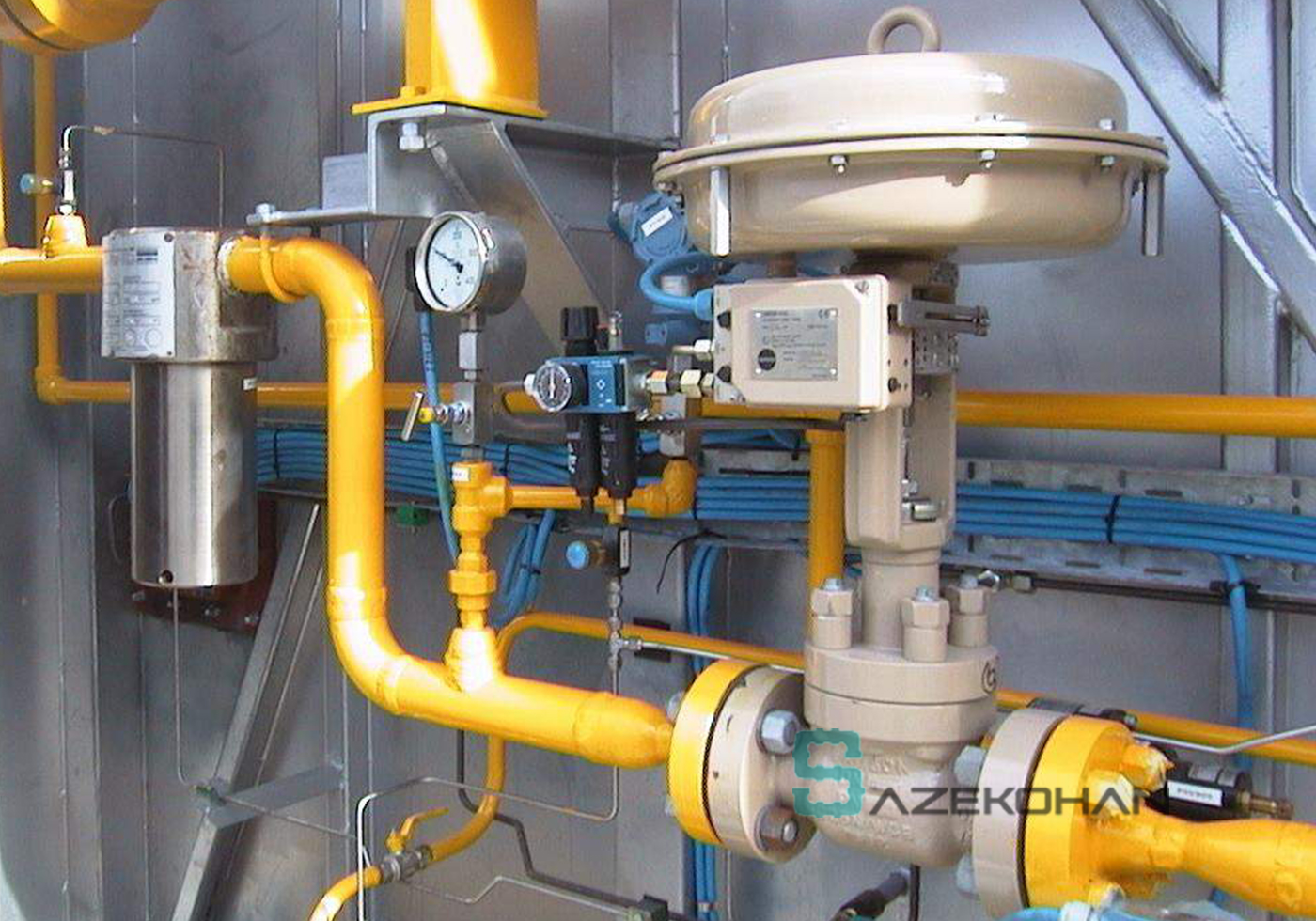 گازرسانی صنعتی و تجاری