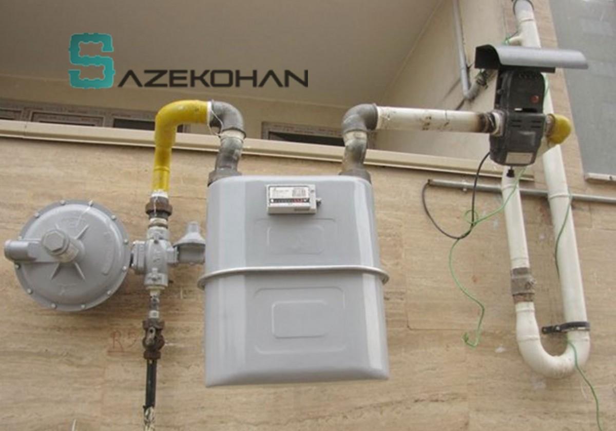 لوله کشی گاز 1 - لوله کشی گاز - لوله کشی صنعتی - تاسیسات ساختمان - لوله کشي گاز - لوله کشی ساختمان