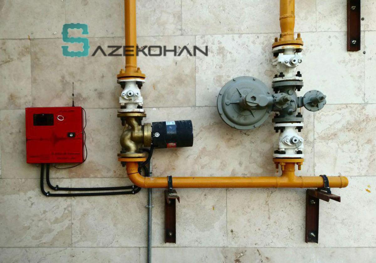 لوله کشی گاز 5 - لوله کشی گاز - لوله کشی صنعتی - تاسیسات ساختمان - لوله کشي گاز - لوله کشی ساختمان