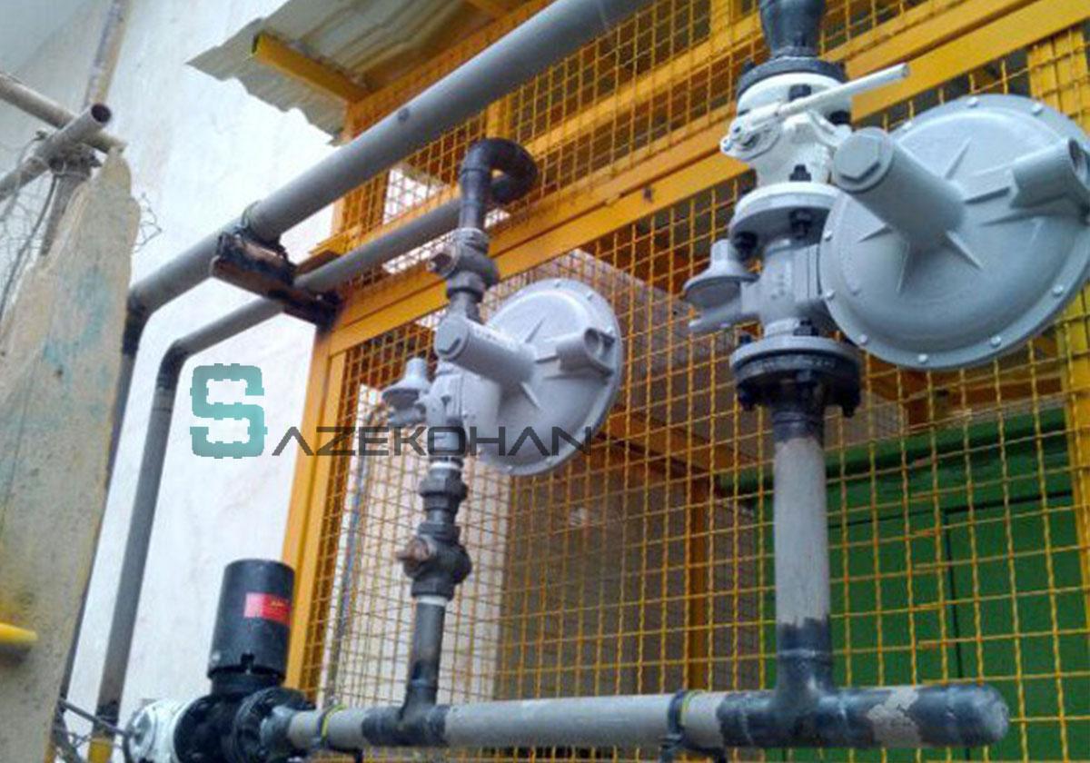 لوله کشی گاز 14 - لوله کشی گاز - لوله کشی صنعتی - تاسیسات ساختمان - لوله کشي گاز - لوله کشی ساختمان