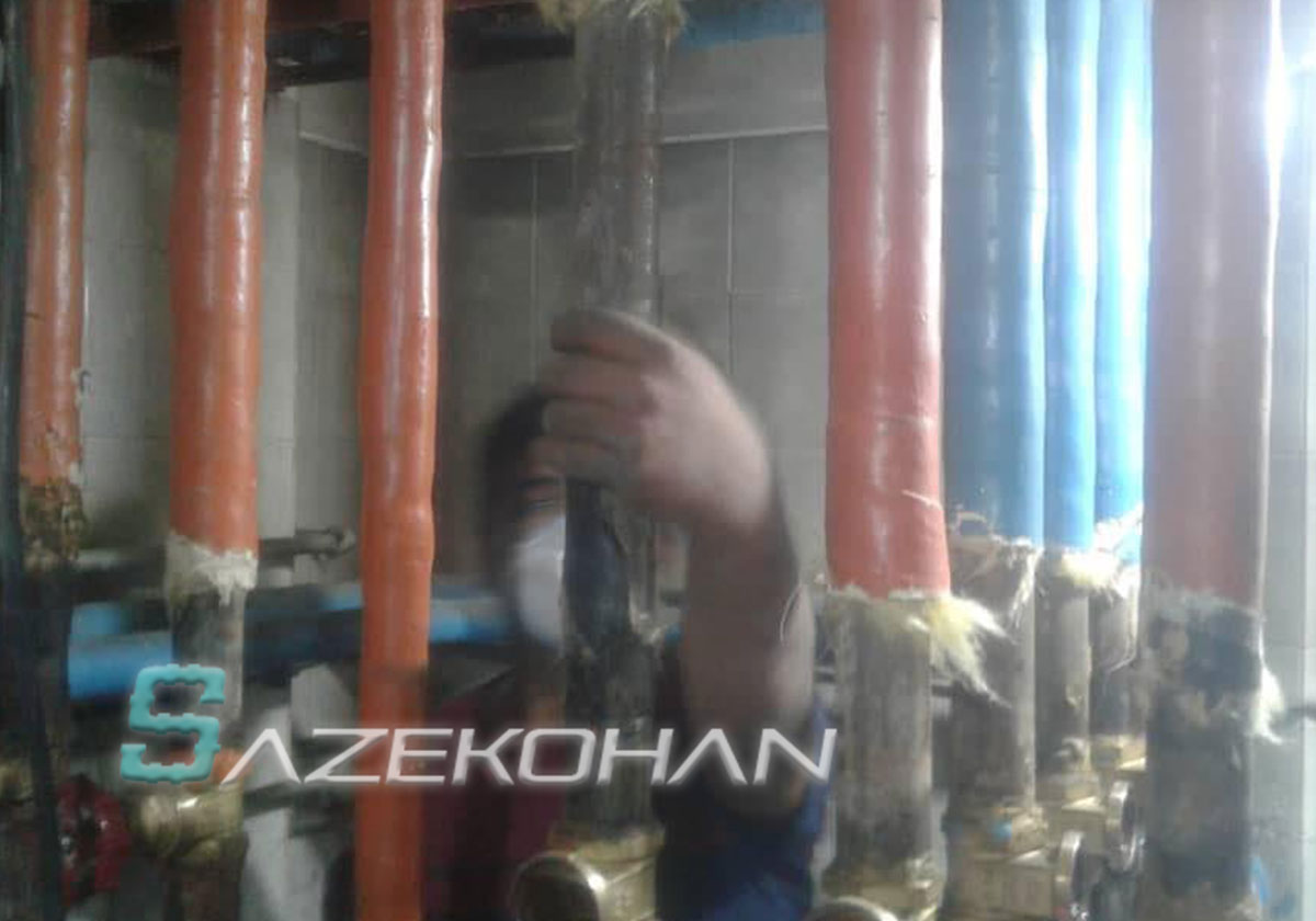 لوله کشی گاز صنعتی ساختمان خانگی - 2