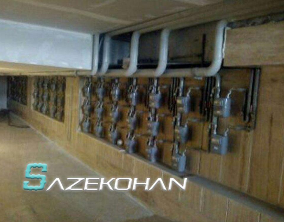 لوله کشی گاز - لوله کشی ساختمان - تاسیسات ساختمان - تاسیسات گاز - لوله کشی صنعتی خانگی -2