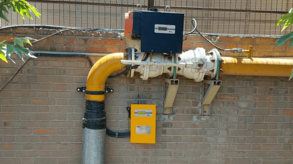 لوله کشی گاز صنعتی