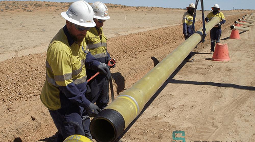 لوله کشی خطوط انتقال گاز